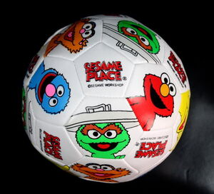 SesamePlaceSoccerBall