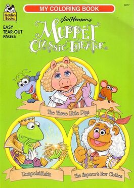 Muppet coloring books muppet wiki fandom powered by wikia Coloring book wiki