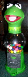 Kermit gumball machine 2