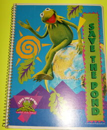 Mead save the pond notebook from folders