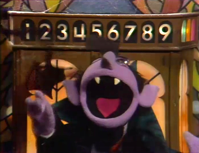 Image result for count von count 6
