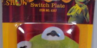 Muppet switch plates