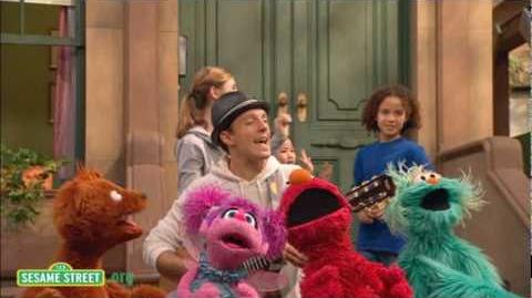 Sesame Street Outdoors with Jason Mraz
