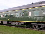 Acadia train car