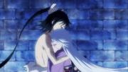 Jinbei hugging Kuroageha