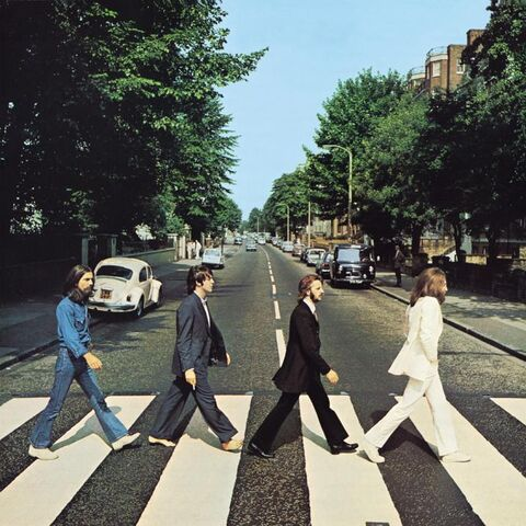 File:The beatles abbey road Album cover photos alternate shots.jpg