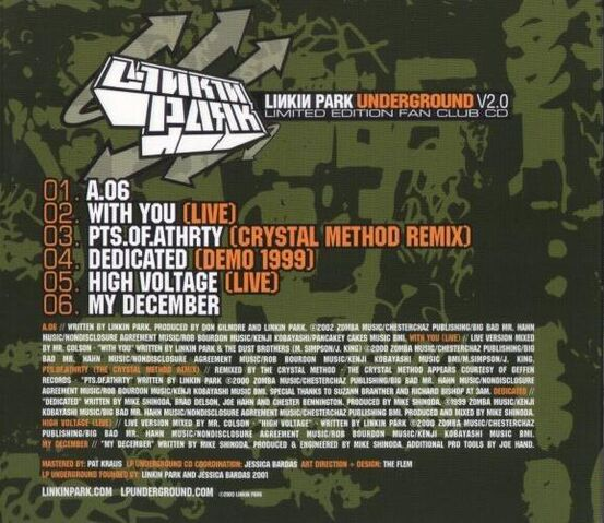 File:Linkin Park - Underground v2.0 Rear Cover.JPG