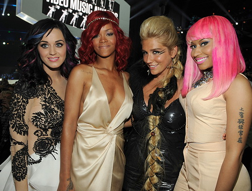 File:Nicki Minaj Katy Perry Rihanna Kesha.jpg