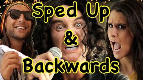Bart Baker MAGIC!- Rude Parody Sped Up and Backwards