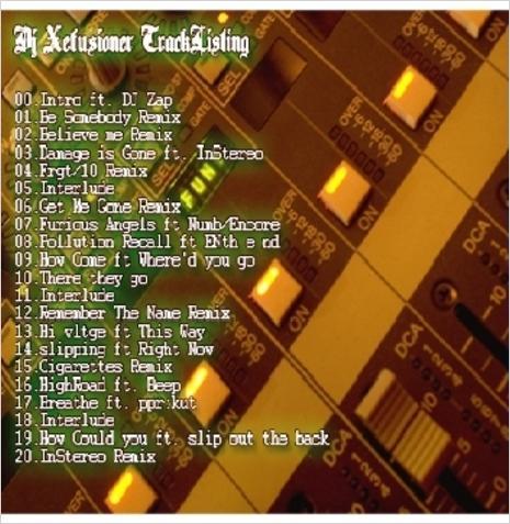 File:DJ Xefuzion - Mixtape - The Xperience Mixtape (Original Version) - Back.jpg