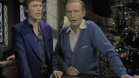 "Bing Crosby & David Bowie - ""The Little Drummer Boy Peace On Earth"""