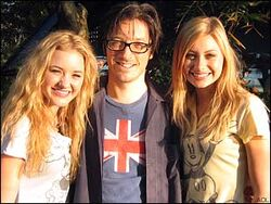 DJ Rick Adams - with Aly & AJ
