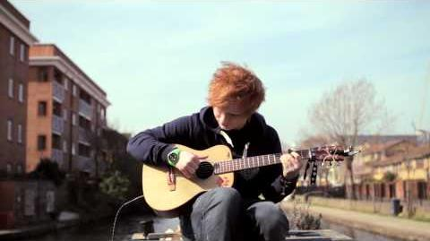 Ed sheeran wiki music story fandom powered by wikia - Ed sheeran give me love live room ...