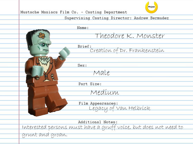 File:Audition Sheet - Theodore K. Monster.jpg