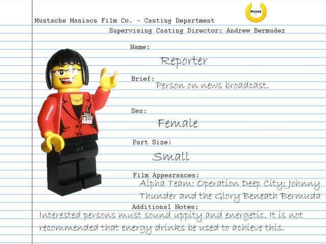 File:Audition Sheet - Reporter.jpg