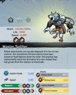 S Master Splitter