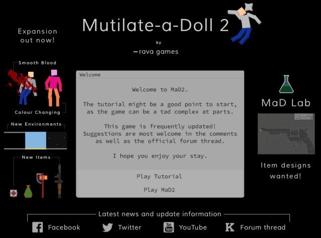File play mutilate a doll 2 a free online game on kongregate png
