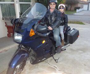 Siona motorcycle-Papa-Siona-shades