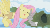 174px-Fluttershy With Bunny