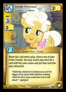 Goldie Delicious, Creature Comforts