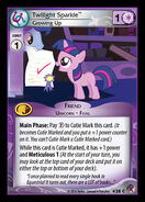 Twilight Sparkle, Growing Up