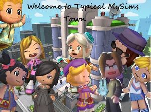 Typical MySims Town
