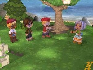 Forest of the Elves Scene