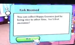 My sims (Wii) Happy Essence Gameplay