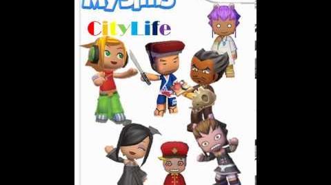 MySims CityLife- Day Theme 1