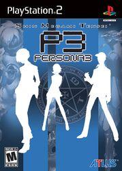 Shin Megami Tensei Persona 3 North American boxart