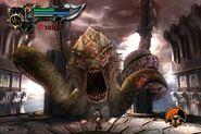 Kraken in God of War II (3)