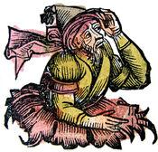 Nuremberg chronicles - Merlin (CXXXVIIIr)