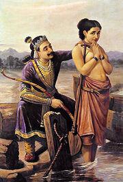 220px-Ravi Varma-Shantanu and Satyavati
