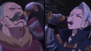Twigo and Jericho drinking the demon blood