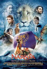 The voyage of the dawn treader poster