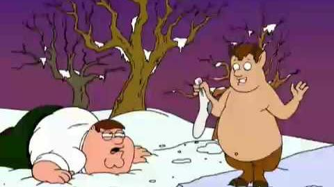 Peter Griffin & Mr Tumnus
