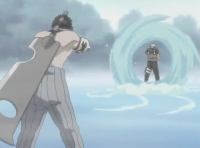 water style giant vortex jutsu naruto and bleach wiki