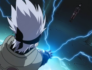 Kakashi and Orochimaru Face-to-Face!