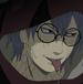 Kabuto tongue out