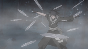 Hexagonal Crystal Shuriken Dance
