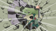 Guy punches Oto