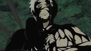 Black Zetsu coats Obito