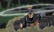 Mecha-Naruto vehicle mode
