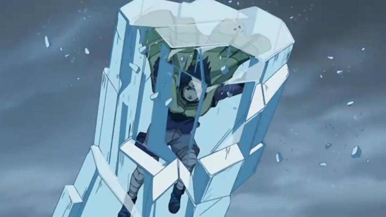 Ice prison technique narutopedia fandom powered by wikia - Technique de sasuke ...
