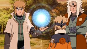 Minato Teaching Rasengan