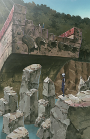 Kannabi Bridge Destroyed