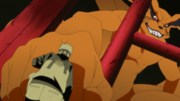 Naruto and Kurama fist bump