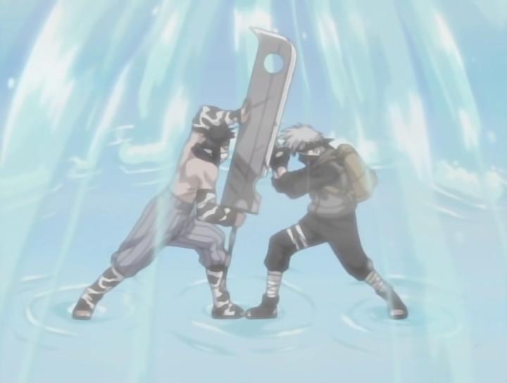Berkas:Kakashi And Zabuza Battling.PNG