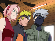Team Kakashi, Deployed