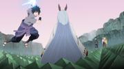 Sasuke Attacks Kaguya